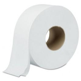 "Green Heritage Jumbo Roll Bathroom Tissue, 2-Ply, 9"" dia, White"
