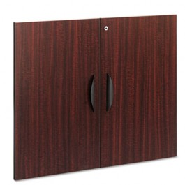 "Valencia Series Cabinet Door Kit For All Bookcases, 31-1/4"" Wide, Mahogany"