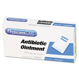 First Aid Antibiotic Ointment, Box of 10