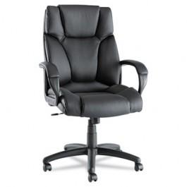 Fraze High-Back Swivel/Tilt Chair, Black Leather