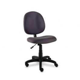 Essentia Series Swivel Task Chair, Acrylic, Gray