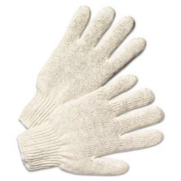 String Knit Gloves, Natural White