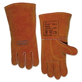 Quality Welding Gloves, Bucktan, Large