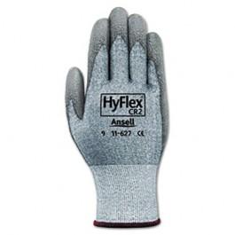 HyFlex 627 Light-Duty Gloves, Size 10, Dyneema/Lycra/Polyurethane, Gray