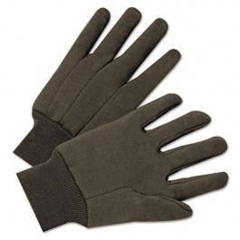 Jersey General Purpose Gloves, Brown