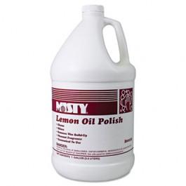 Lemon Oil Furniture Polish, Lemon Scent, 1 gal Bottle