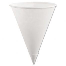 Paper Cone Cups, 6oz, White