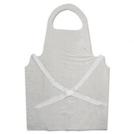 Disposable Apron, Polypropylene, White