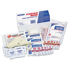 ANSI/OSHA First Aid Refill Kit, 48-Pieces