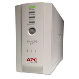 Back-UPS CS Battery Backup System Six-Outlet 350 Volt-Amps