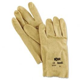 KSR Multi-Purpose Vinyl Gloves, Tan, Size 9