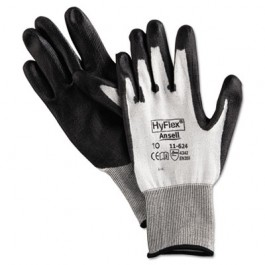 HyFlex Dyneema Cut-Protection Gloves, Gray, Size 10