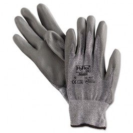 HyFlex 627 Light-Duty Gloves, Size 9, Dyneema/Lycra/Polyurethane, Gray