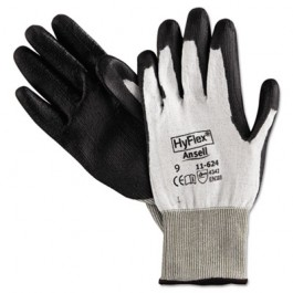 HyFlex Dyneema Cut-Protection Gloves, Gray, Size 9