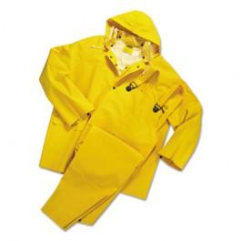 Rainsuit, PVC/Polyester, Yellow, 4X-Large