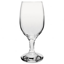Glass Stemware, Wine, 8.5oz, Clear