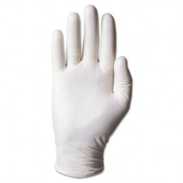 Dura-Touch 5-Mil PVC Disposable Gloves, Small, Clear