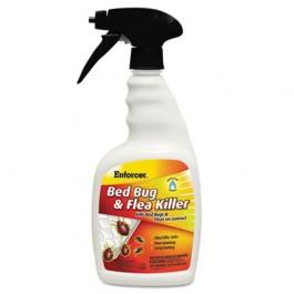 Bed Bug & Flea Killer, 32 oz Spray Bottle, For Bed Bugs/Fleas/Ticks