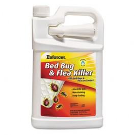 Bed Bug & Flea Killer, 1 gal Bottle, For Bed Bugs/Fleas/Ticks
