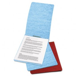 """Presstex Report Cover, Prong Clip, Letter, 2"""" Capacity, Red"""