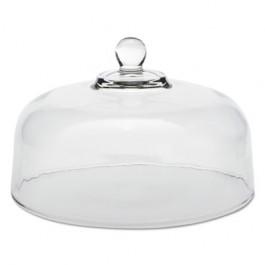 "Cake Dome, Glass, Clear, 11 1/4"" Diameter"