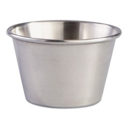 Sauce Cups, 1.5 oz, Stainless Steel