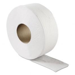 Green Heritage Jumbo Toilet Tissue, 1-Ply, White, 9-in Diameter
