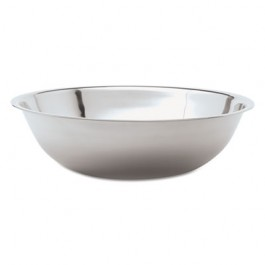 """Mixing Bowl, Stainless Steel, 13 qt, 17 3/8""""Diameter"""
