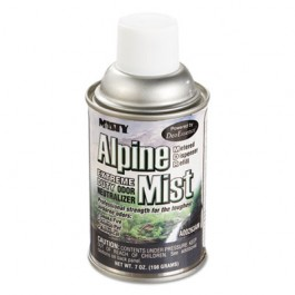 Metered Odor Neutralizer Refills, Alpine Mist, 7oz, Aerosol