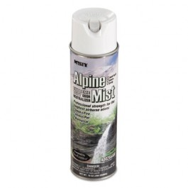 Hand-Held Odor Neutralizer, Alpine Mist, 10oz, Aerosol