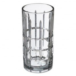 Tartan Glasses, Iced Tea Glass, 16 oz, Clear