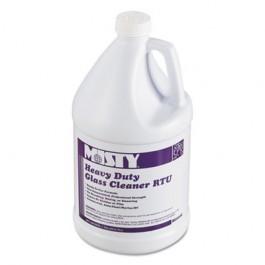 Heavy-Duty Glass Cleaner, 32oz Bottle