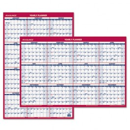 "Recycled Vertical/Horizontal Erasable Wall Planner, 24"" x 36"", 2013"