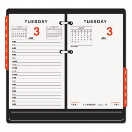 "Two-Page-Per-Weekday Calendar Refill, 3 1/2"" x 6"", 2013"