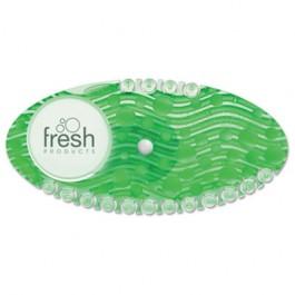 Curve Air Freshener, Cucumber Melon, Green, 10/Box
