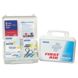 Office First Aid Kit, for Up to 25 People, 131 Pieces