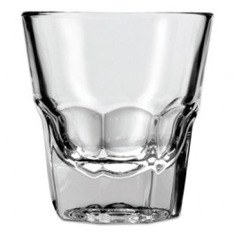 New Orleans Rocks Glasses, 4.5oz, Clear