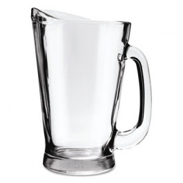 Beer Wagon Pitcher, 55oz, Clear