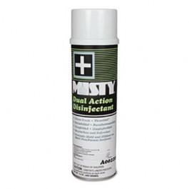 Dual Action Disinfectant, Fresh Linen Scent, Liquid, 20 oz. Aerosol Can