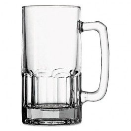 Gusto Beer Mug, Glass, 1 Liter, Clear