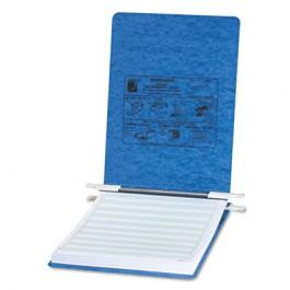 Pressboard Hanging Data Binder, 8-1/2 x 11 Unburst Sheets, Light Blue
