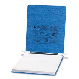 Pressboard Hanging Data Binder, 9-1/2 x 11 Unburst Sheets, Light Blue