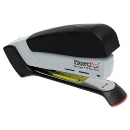 Desktop Stapler, 20-Sheet Capacity, Black/Gray