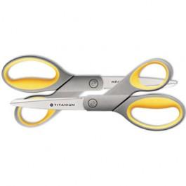 """Titanium Bonded Scissors, Pack of 2, 8"""" Straight"""