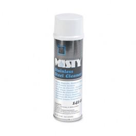 Stainless Steel Cleaner & Polish, Lemon Scent, 15 oz. Aerosol Can