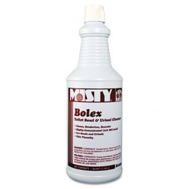 Bolex 23 Percent Hydrochloric Acid Bowl Cleaner, Wintergreen, 32 oz. Bottle