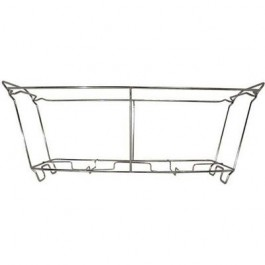 Wire Chafer Frame, 23w x 12d x 8h, Aluminum