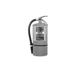 CLEANGUARD FE09 Clean-Agent Fire Extinguisher, 1-A,10-B:C, 18.75h x 9dia, 9.5lb