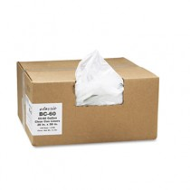 Clear Low-Density Can Liners, 55-60 gal, 0.85 mil, 38 x 58, Clear, 100/Carton