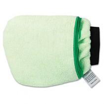 Grip-N-Flip 10-Sided Microfiber Mitt, 7 x 6, Green